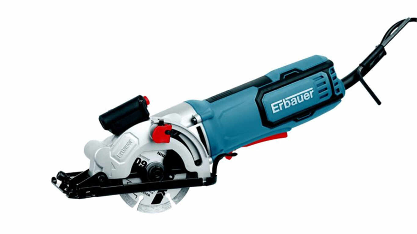 Scie circulaire compacte filaire 650 W Erbauer EMCS650 3663602795889