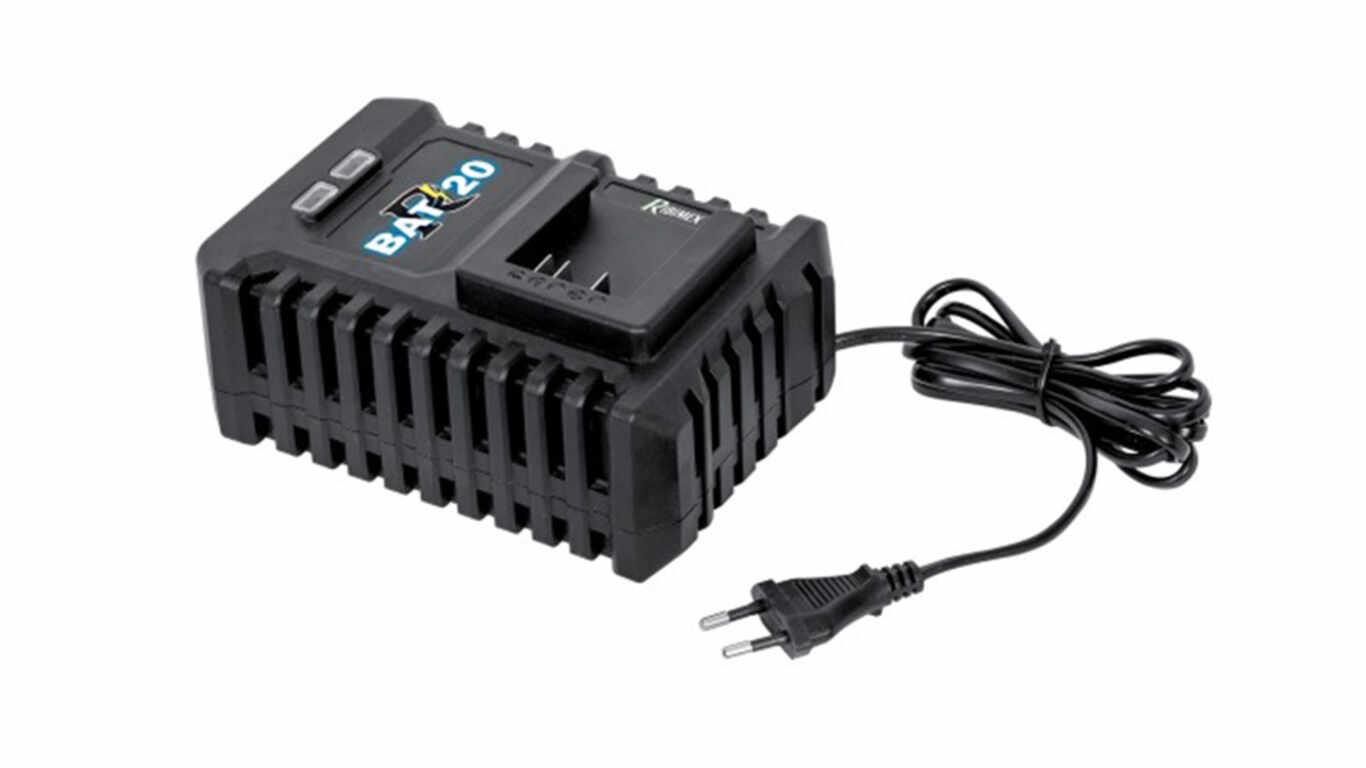 Chargeur ultra rapide 20 V R-BAT20 Ribimex PRBAT20/CHURA