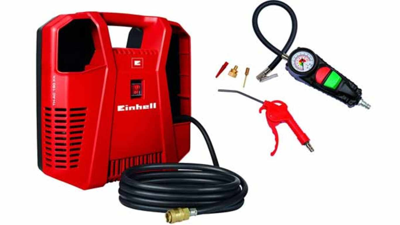 Compresseur filaire Einhell TH-AC-190 Kit