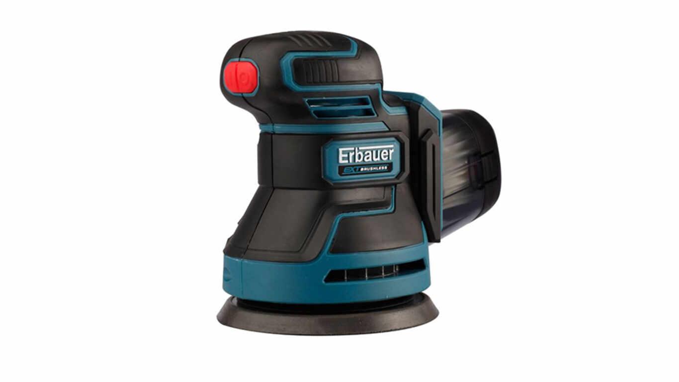 Ponceuse excentrique sans fil Erbauer ERO18-Li 3663602799269