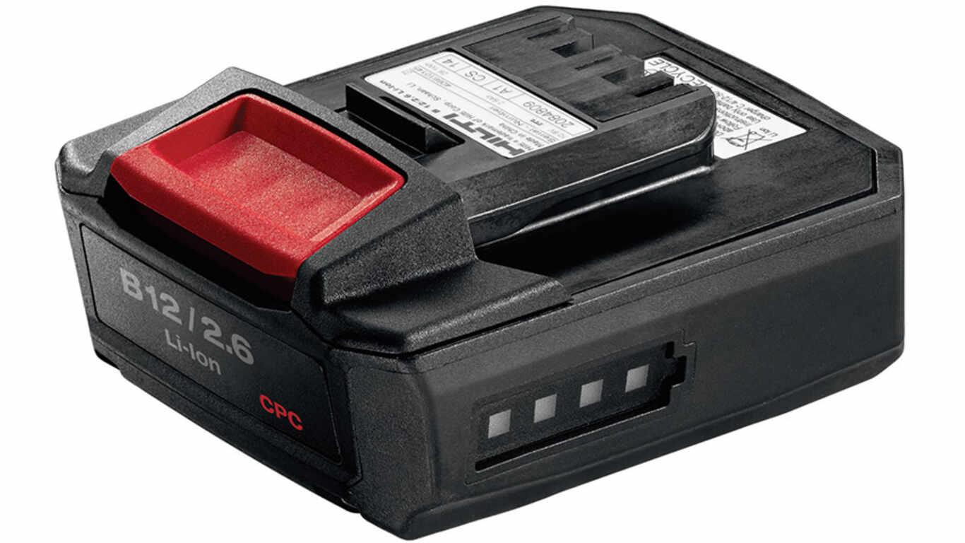 Batterie 12V 2,6 Ah Hilti