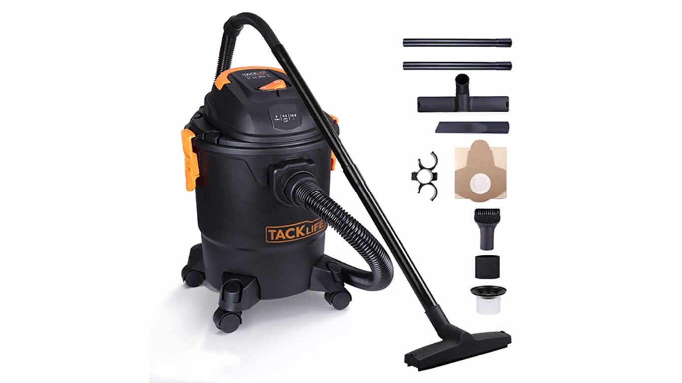 Test et avis de l'aspirateur de chantier PVC01A TACKLife pas cher