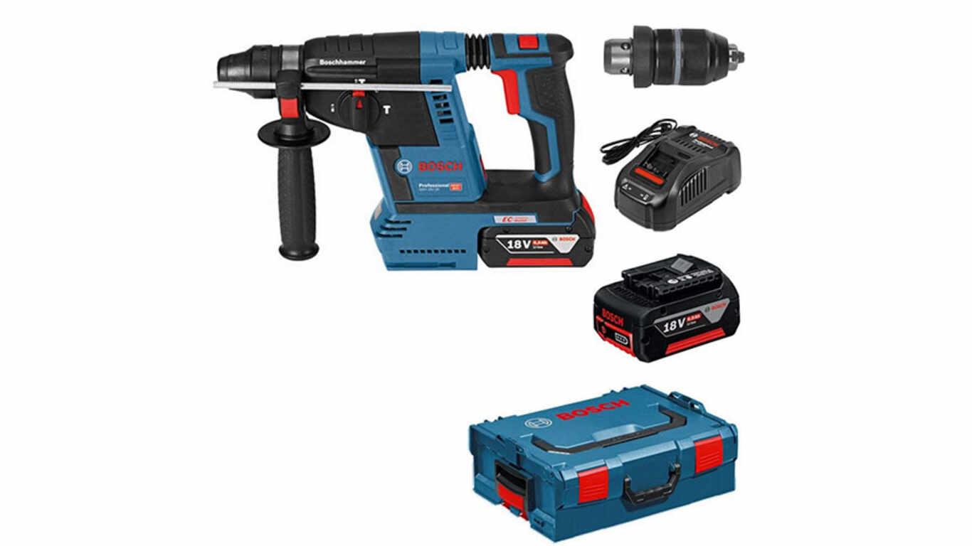 Perforateur sans fil SDS-Plus GBH 18V-26 F Bosch Professional 0611910007