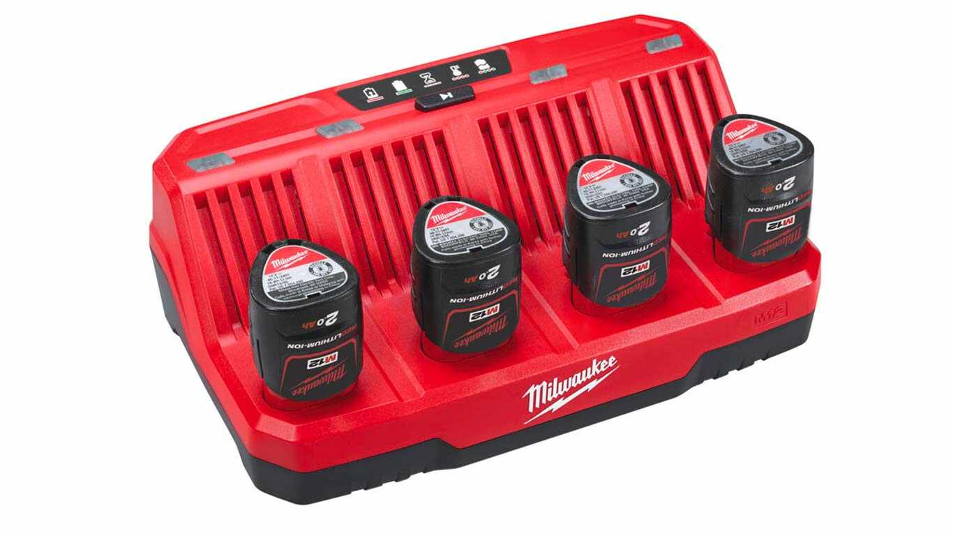 Chargeur Milwaukee M12-C4
