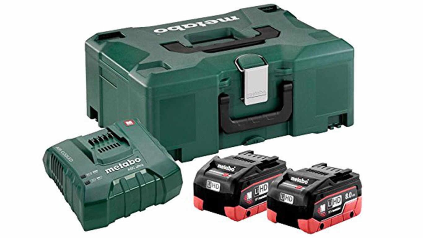 avis et prix Pack batterie 118 V 8,0 Ah LiHD 685131000 metabo promotion pas cher