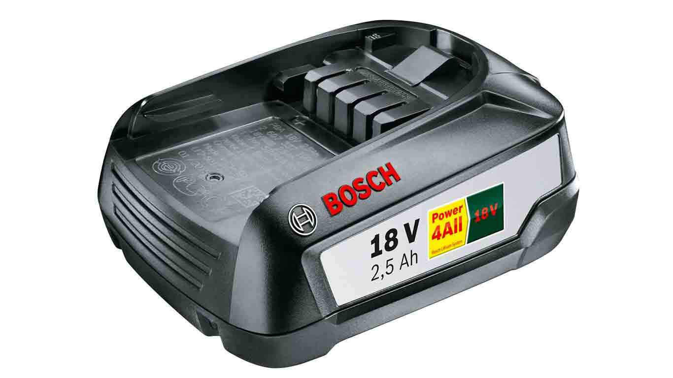 Batterie Bosch Power4all 18 V 2.5 Ah GR SKU pas cher