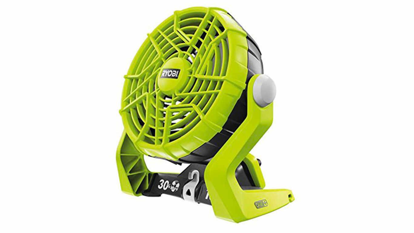 avis et prix ventilateur sans fil Ryobi R18F-0 promotion pas cher