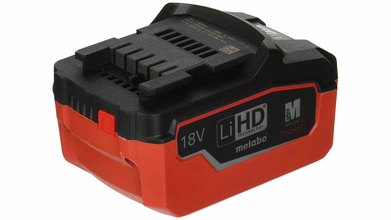 Batterie Metabo 18 V 6.2 Ah LiHD 625341000