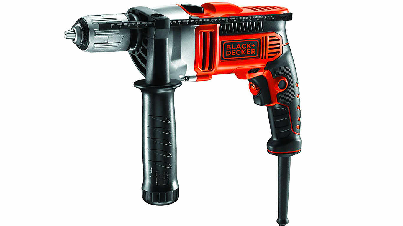 Black + Decker KR805K Perceuse percussion filaire 800 W pas cher