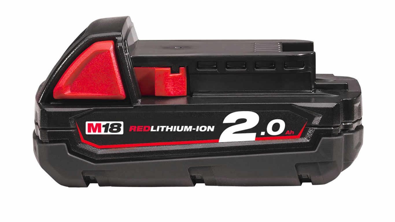batterie milwaukee 18 V 2,0 Ah M18 B2