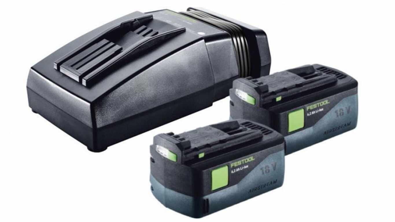 pack batterie et chargeur Festool BP 18 LI AS 18 V 6,2 Ah Airstream pas cher