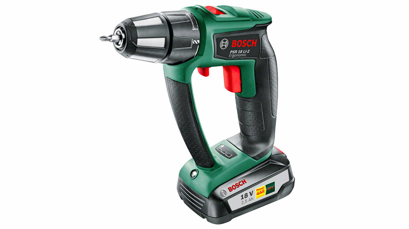 Perceuse visseuse Brushless  Bosch Power4all PSR 18 LI-2 Ergonomic
