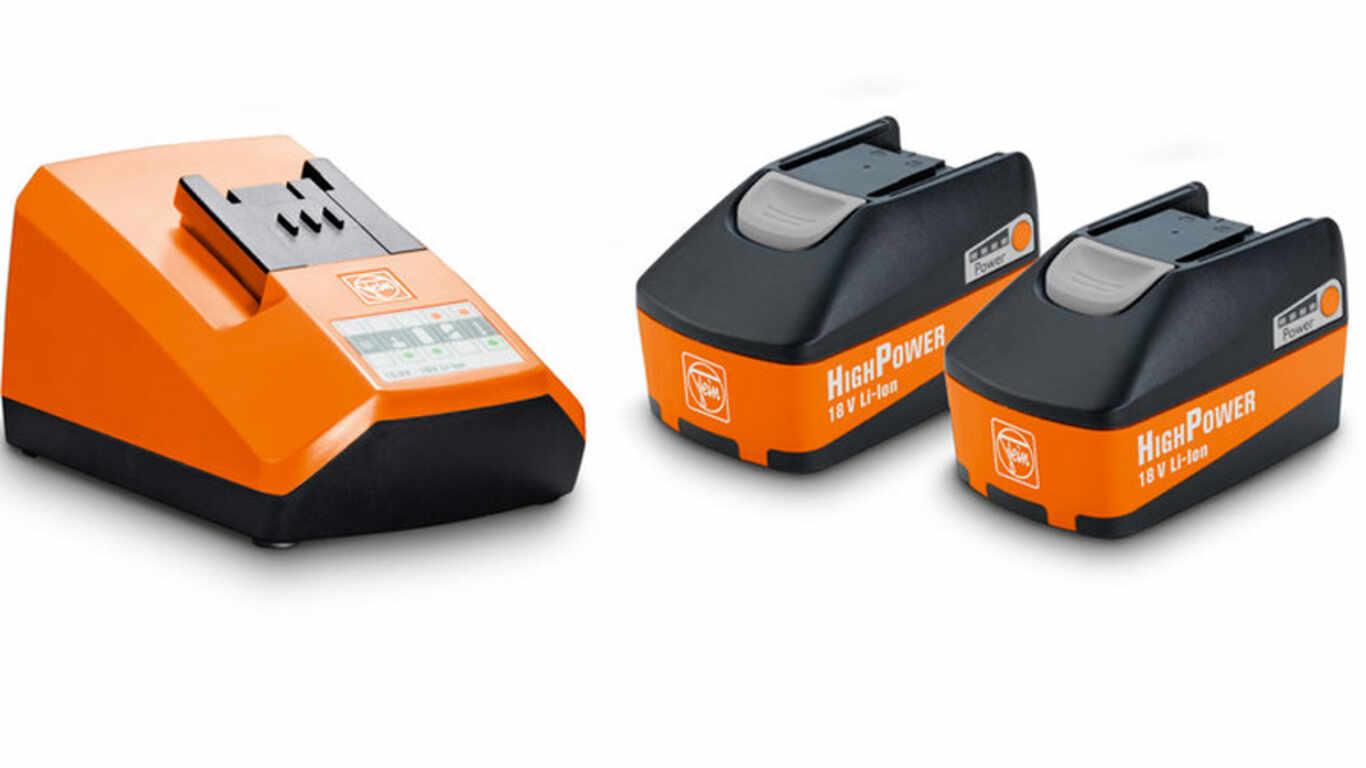 Pack batteries et chargeur Fein 18 V 5,2 Ah High Power