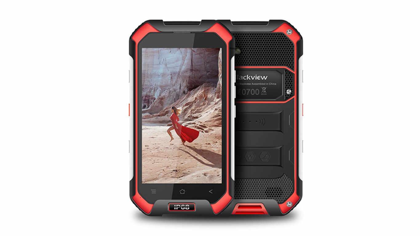 Test téléphone chantier BLACKVIEW BV6000 pas cher