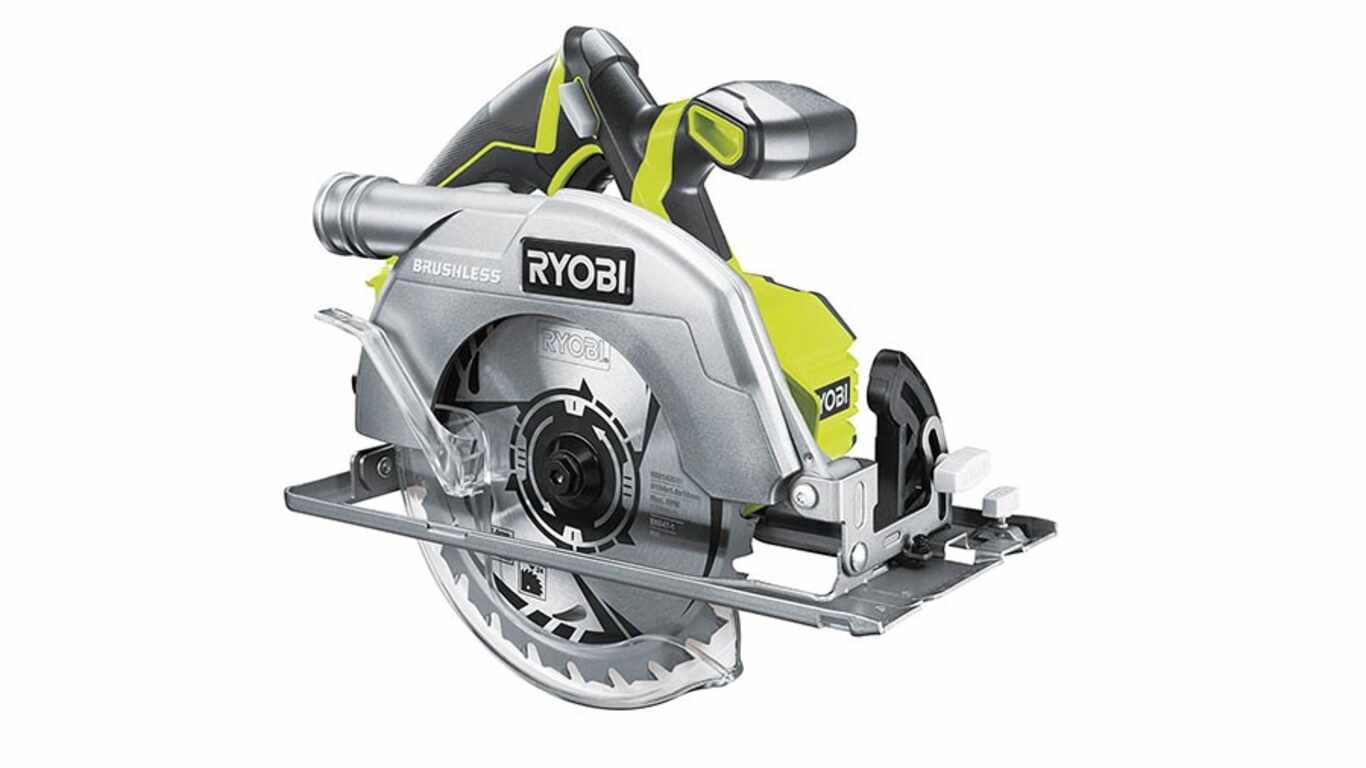 Test et avis scie circulaire Ryobi R18CS7-0 prix pas cher