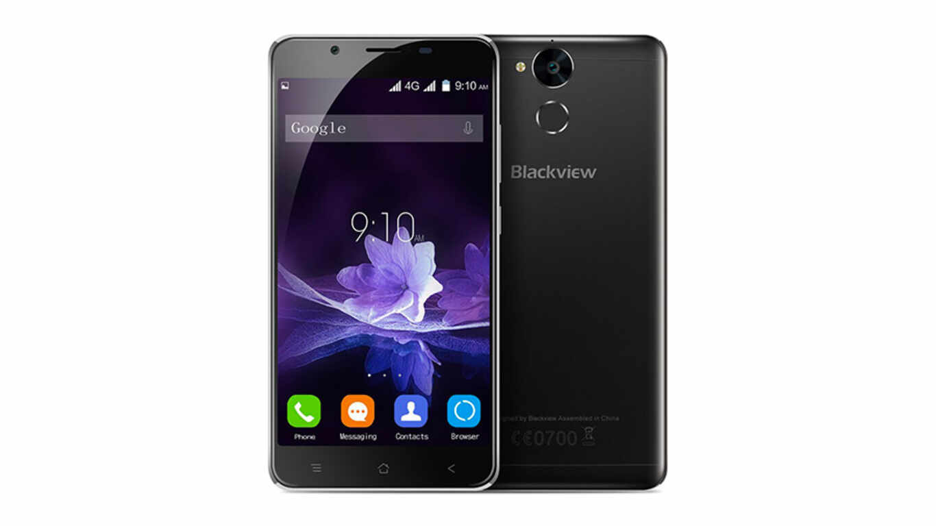Test téléphone chantier BLACKVIEW P2 pas cher