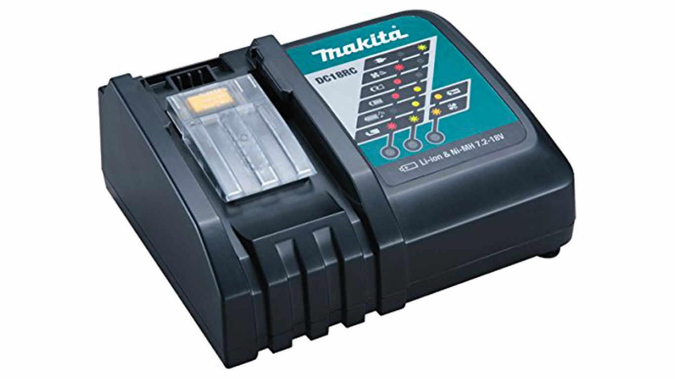 Chargeur de batteries Makita DC18RC 18 V pas cher