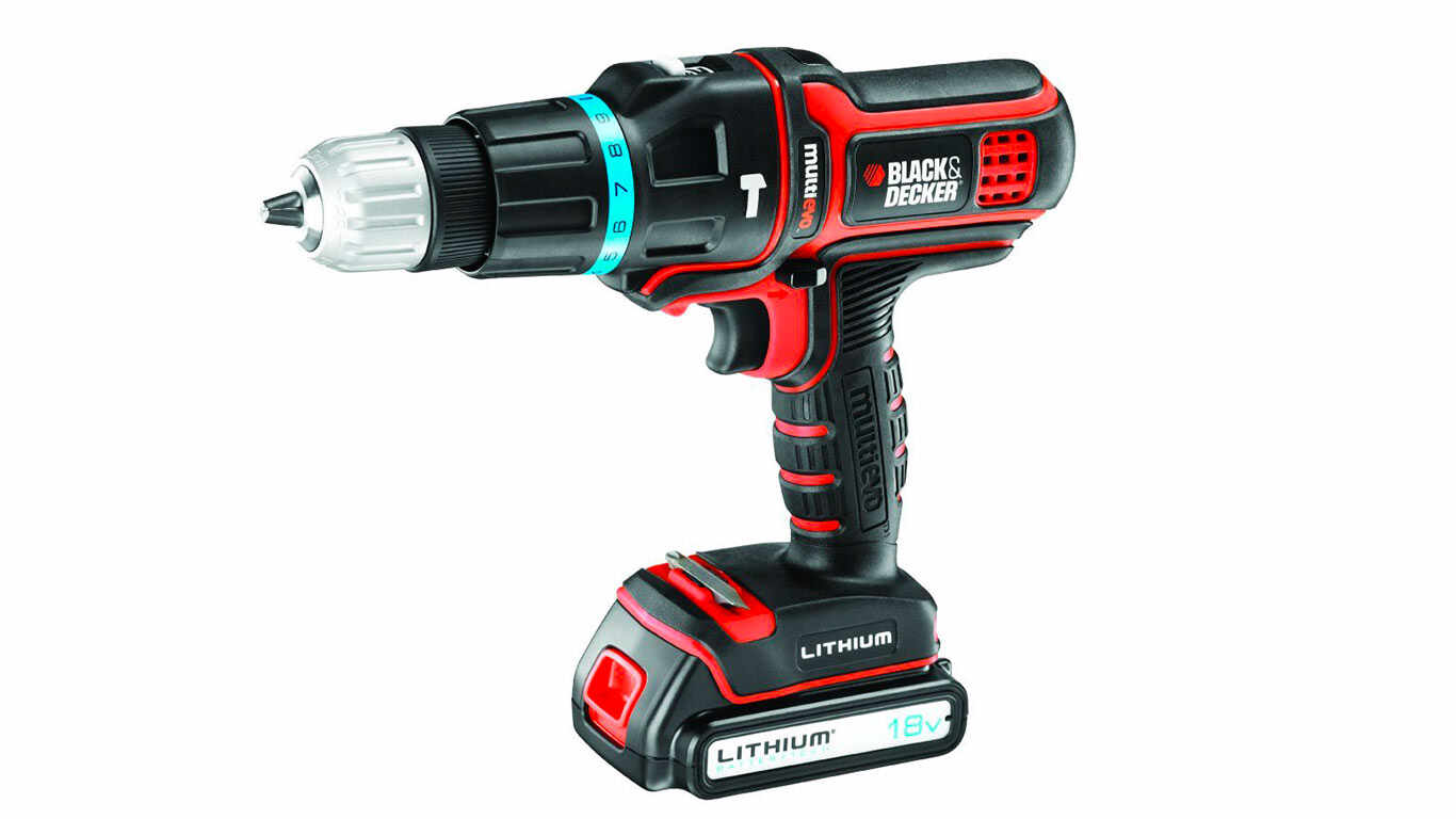 Perceuse visseuse Black + Decker MT188KB-QW Multievo