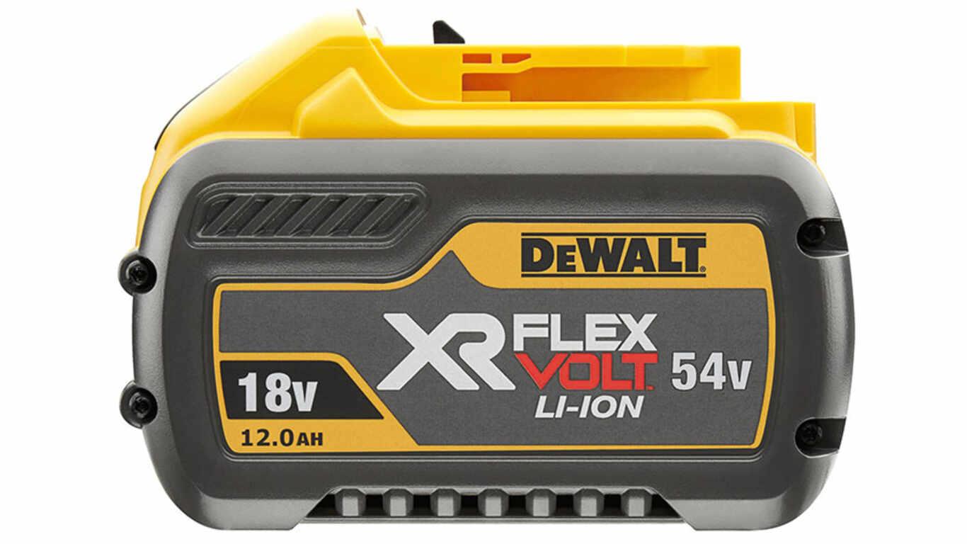 Batterie Dewalt 548 Flexvolt Batterie li-Ion 54 V 12 Ah