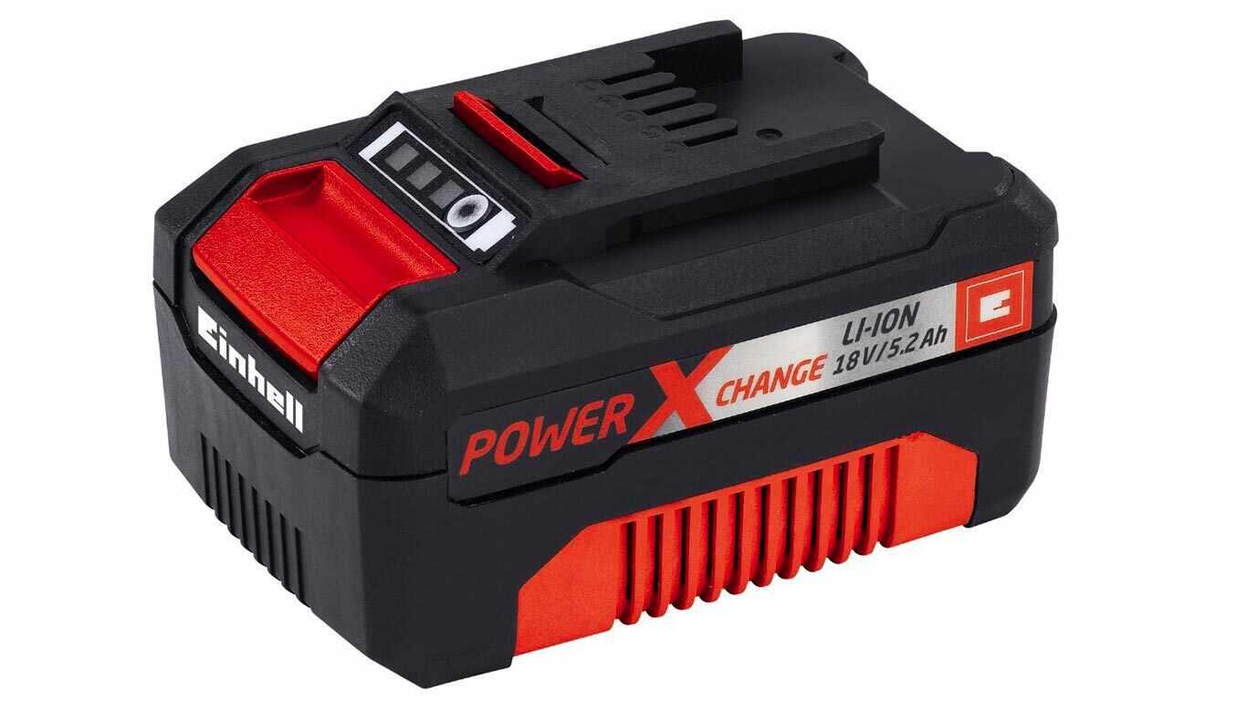 test et prix Batterie Einhell 18 V 5.2 Ah Power X-Change