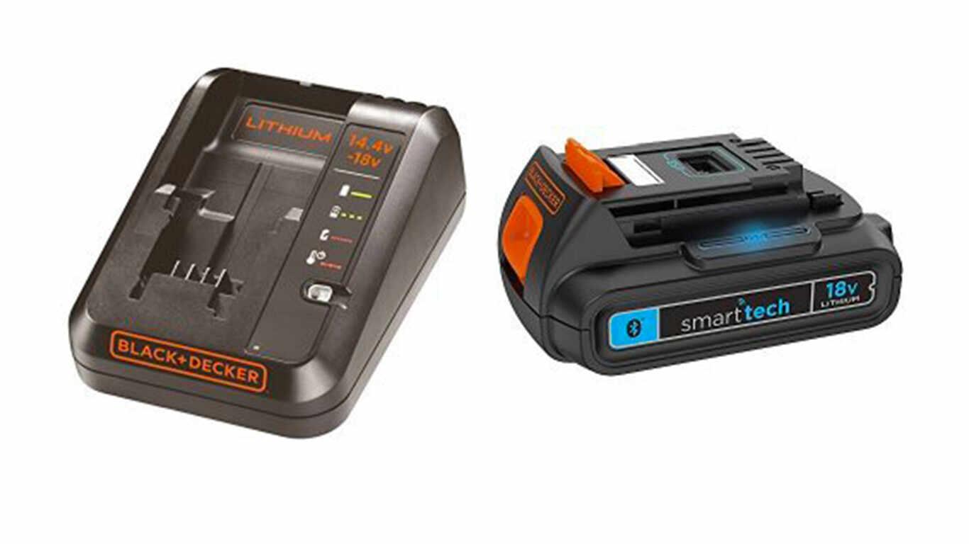 Pack batterie et chareur Smart tech 18 V 1,5 Ah