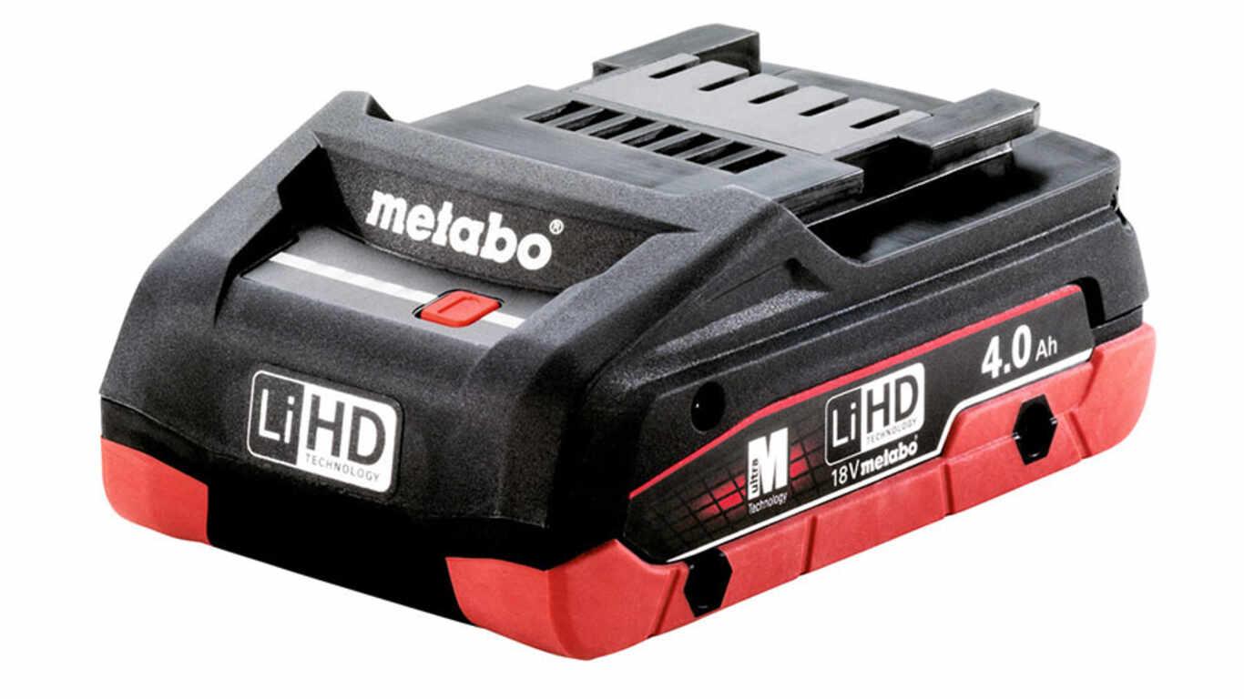 avis et prix batterie 18 V 4.0 Ah 625367000 Metabo promotion pas cher