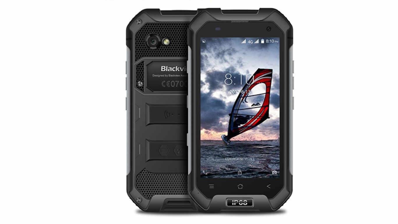 Test téléphone chantier BLACKVIEW BV6000-S pas cher