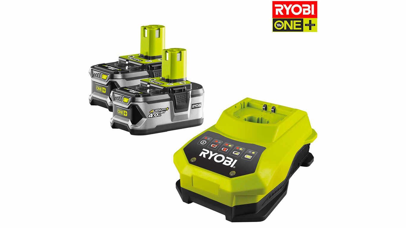 Pack Batterie Ryobi ONE + 118 V 4.0 Ah RBC18LL40