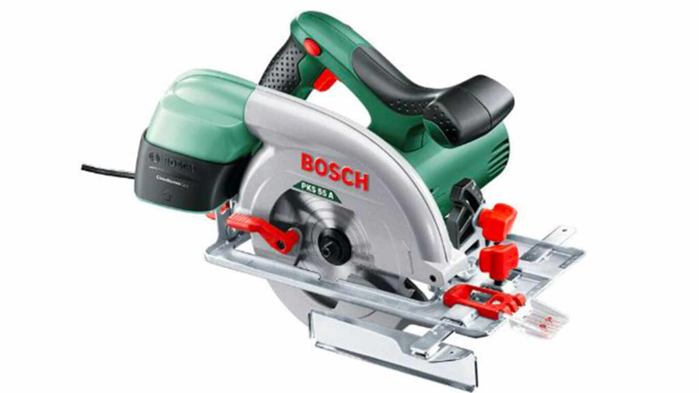 test et avis Bosch scie circulaire PKS 55 A 0603501000 prix pas cher