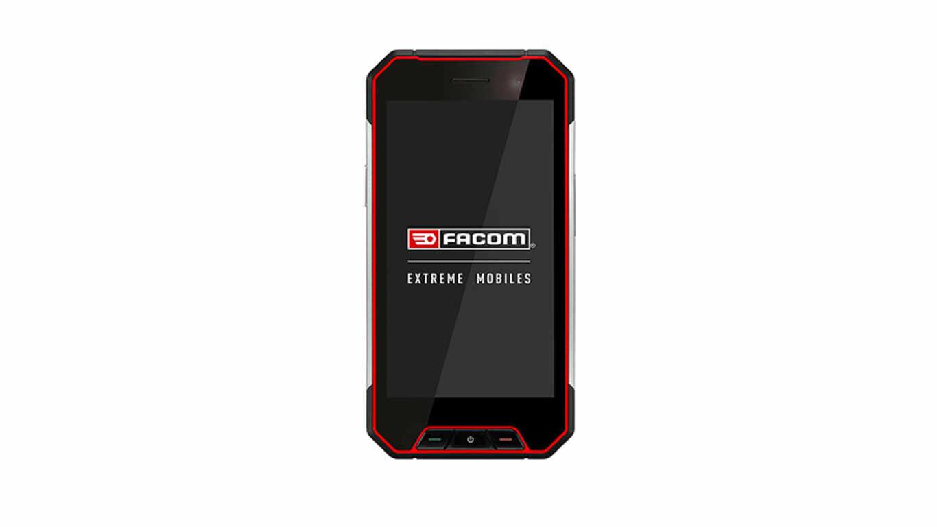 Test téléphone chantier FACOM F400 pas cher