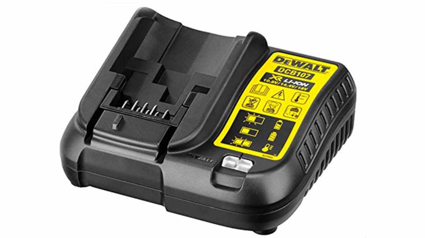 Chargeur de batterie dewalt DCB107 prix pas cher