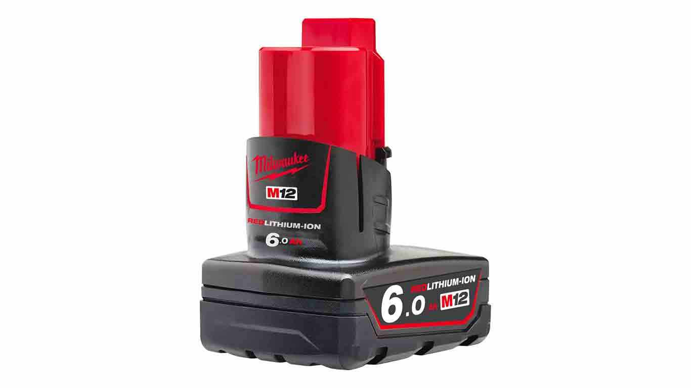 Batterie Milwaukee M12 B6 RedLithium Li-Ion 12V 6.0Ah 4932451395