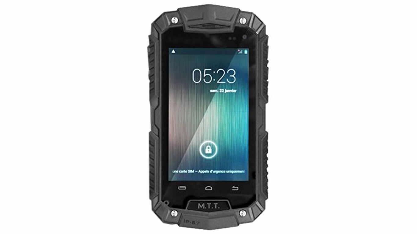 Test téléphone chantier MTT Smart Robust pas cher