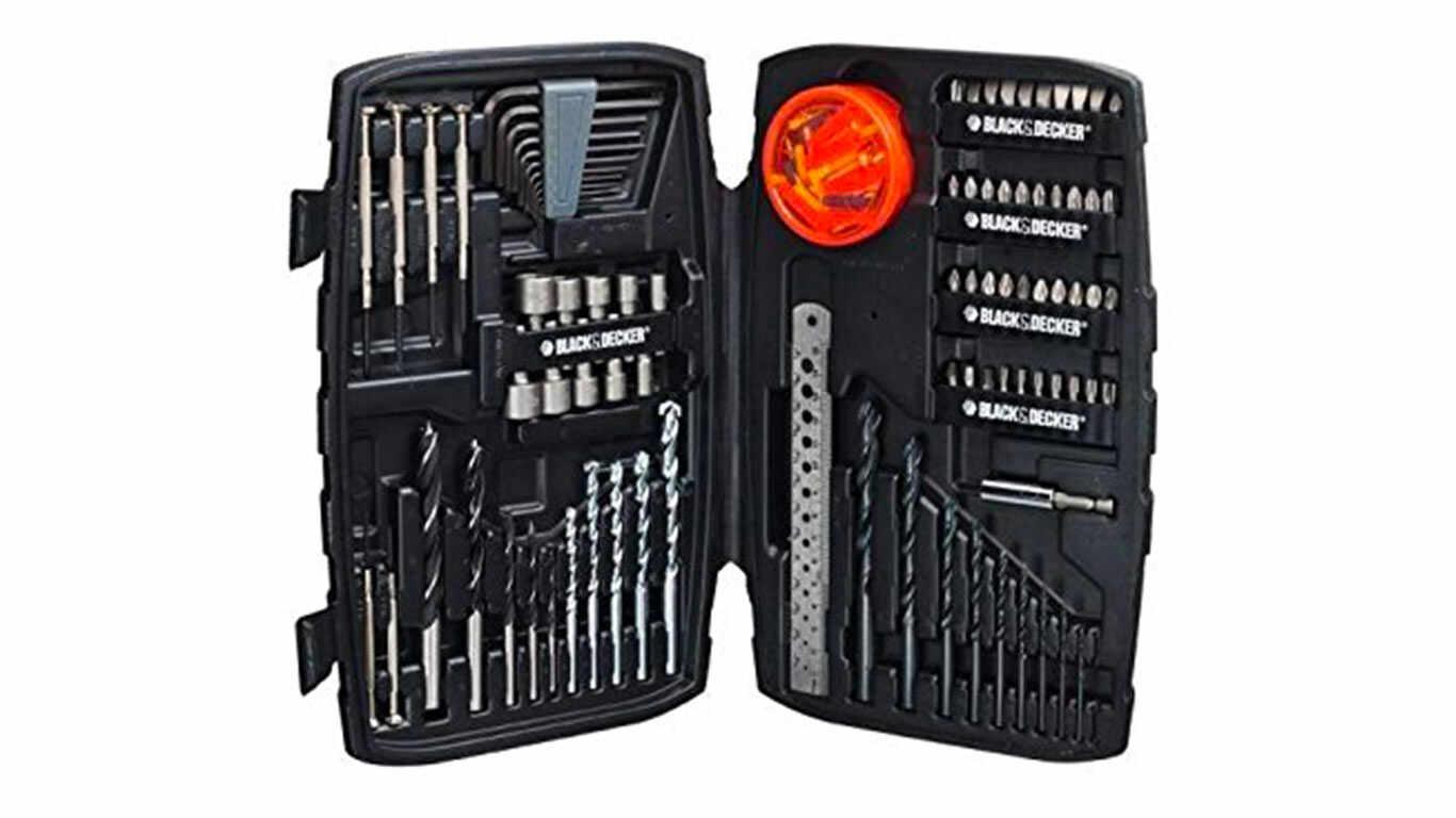 Black + Decker A7212 Coffret de 150 Accessoires de perçage/vissage