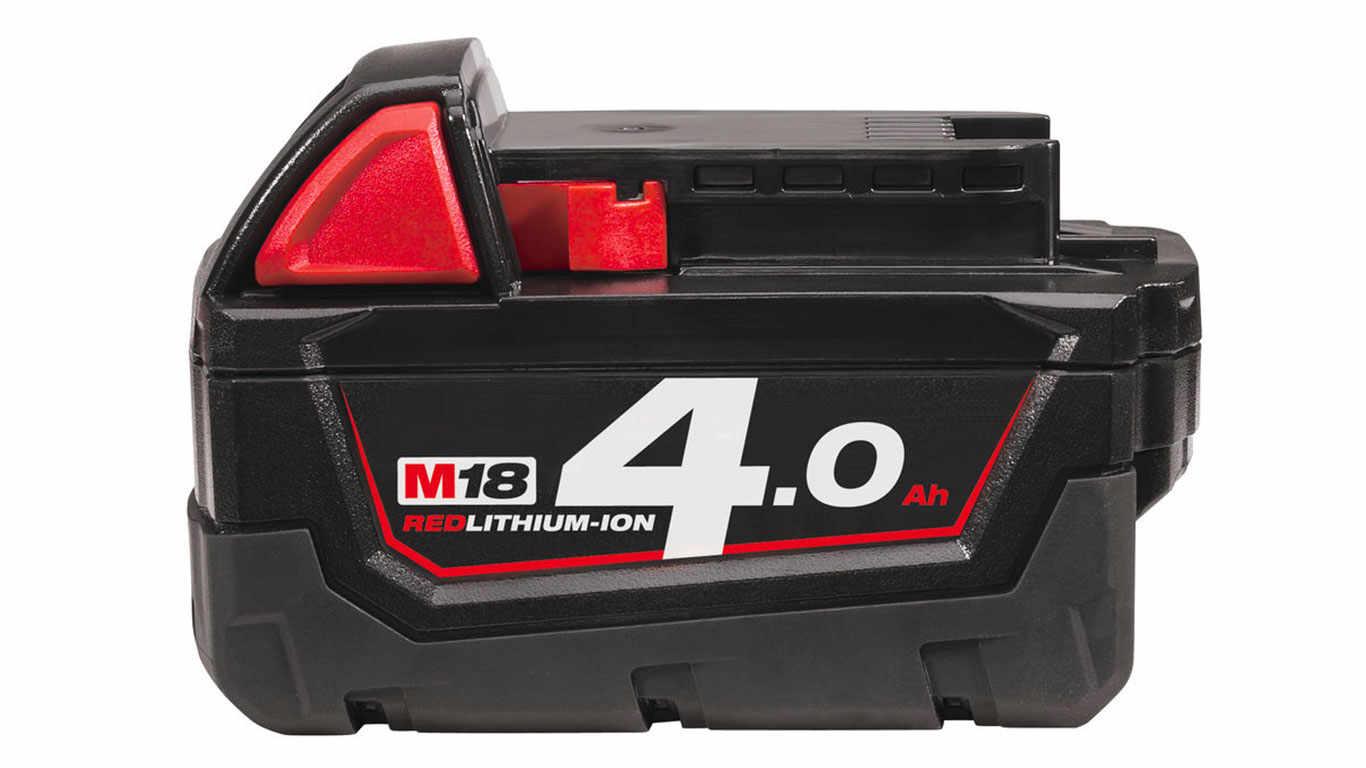 batterie milwaukee 18 V 4,0 Ah M18 B4