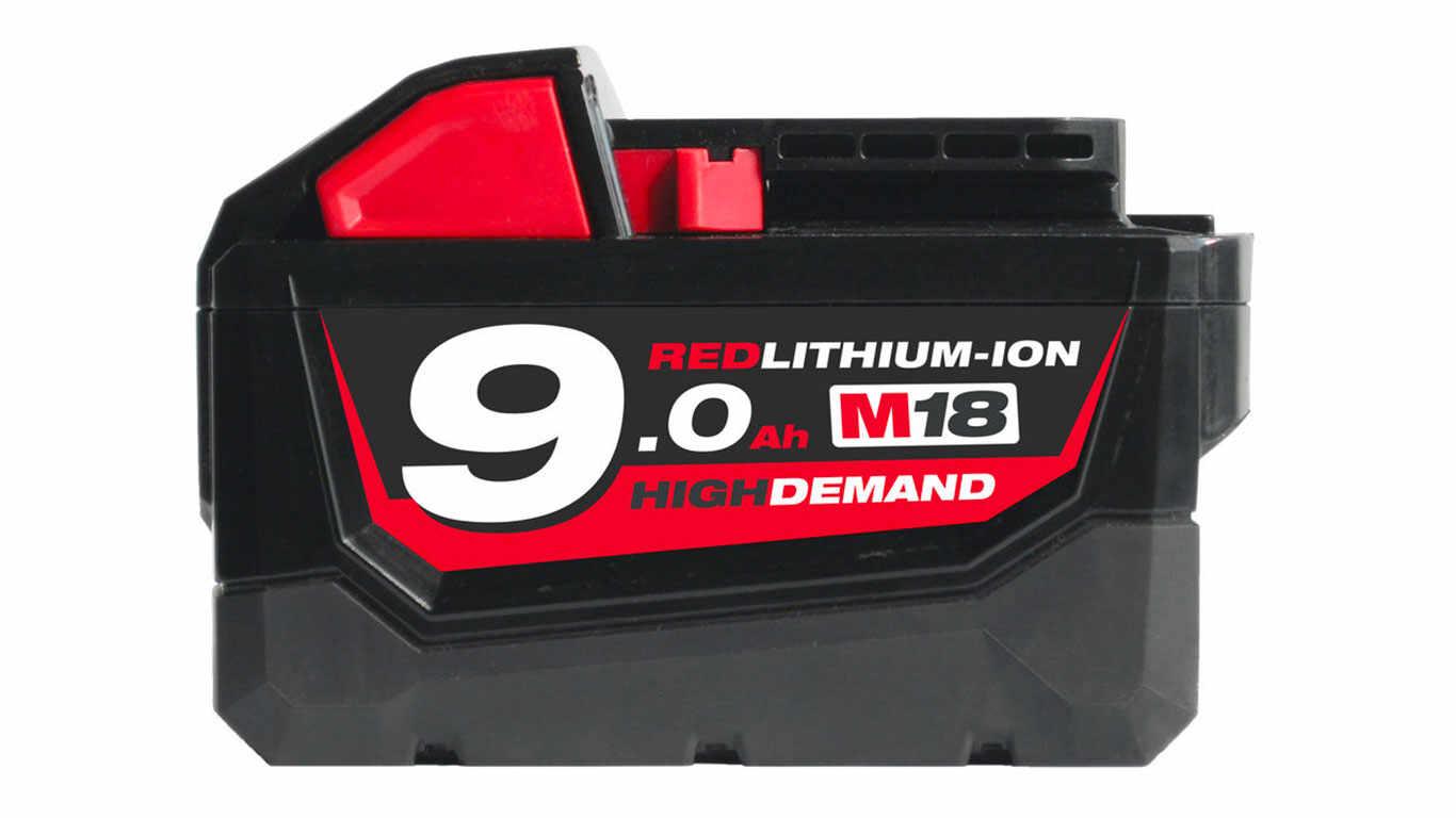 batterie milwaukee M18 B9 9,0 Ah 18 V High Demand