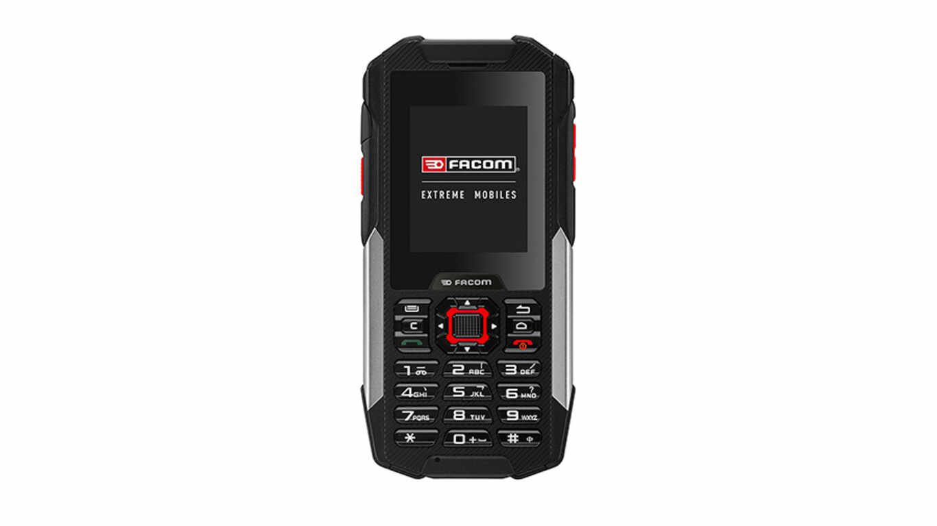 Test téléphone chantier FACOM F200 pas cher