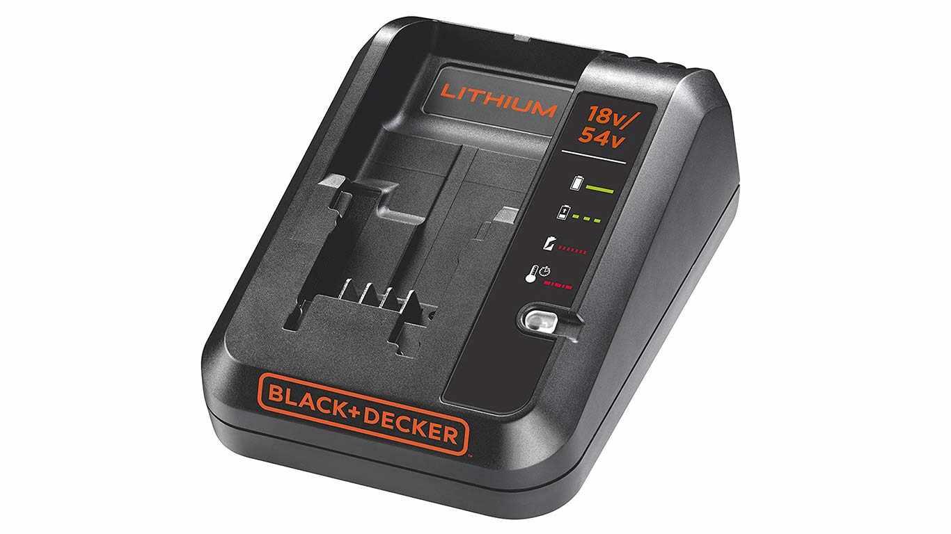 Chargeur de batterie 54 V et 18 V BLACK + DECKER BDC2A-QW