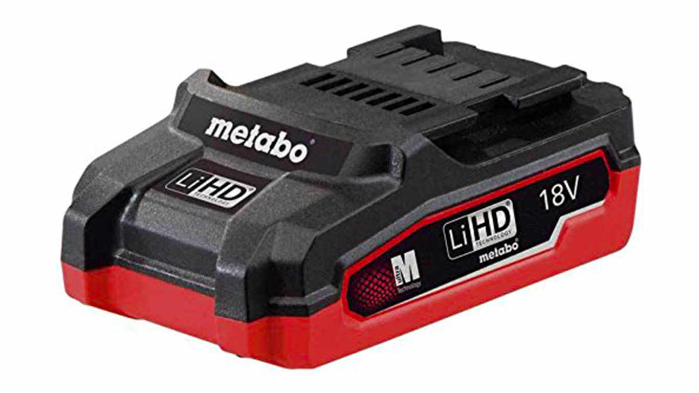 Batterie Metabo 18 V 3.1 Ah LiHD 625343000