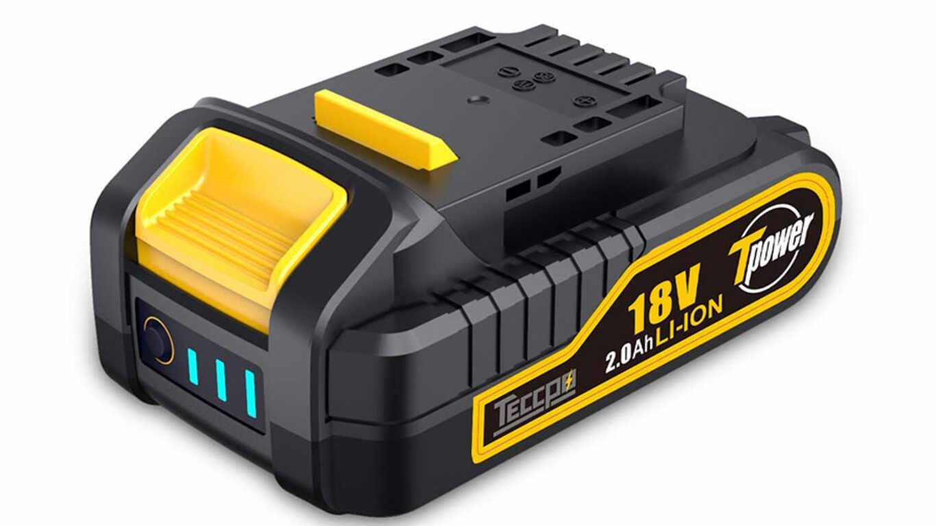 Batterie TECCPO PPK02B 18 V 2,0 Ah