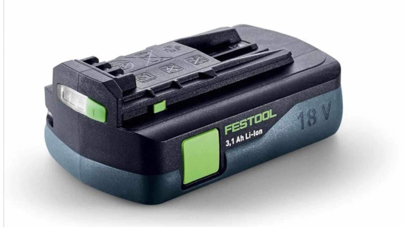 Batterie Festool BP 18 Li 3,1 Ah 201789 prix pas cher