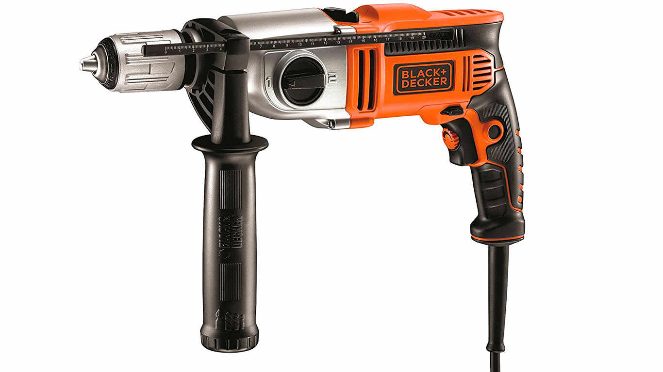 Black + Decker KR911K Perceuse a percussion filaire 910 W pas cher