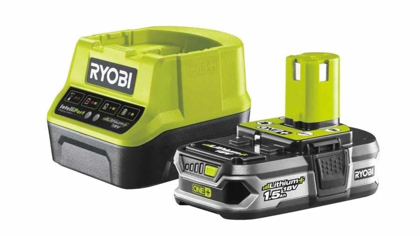 Pack batterie et chargeur 18V 2,5 RC18120-115 Ryobi