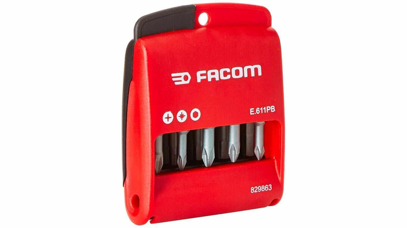 Facom E.612PG Etui 10 embouts longs 50 mm pas cher