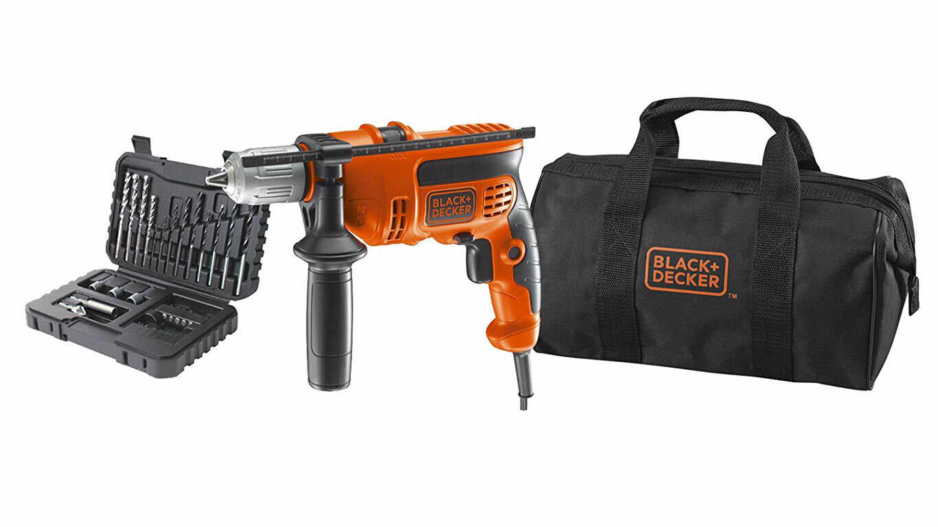 Black + Decker KR714S32-QS Perceuse à percussion 710 W pas cher