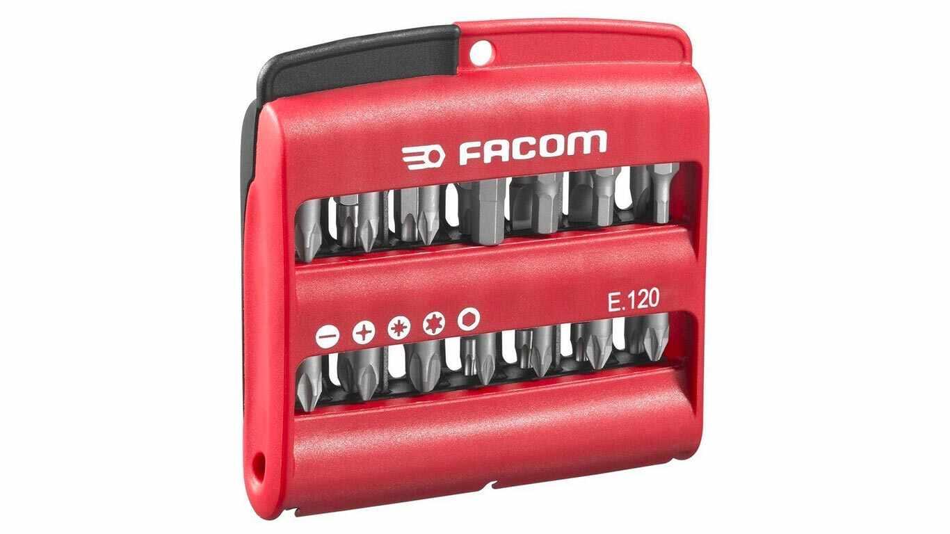 Facom E.120PB Boîte de 28 embouts et un porte embout E120PB pas cher