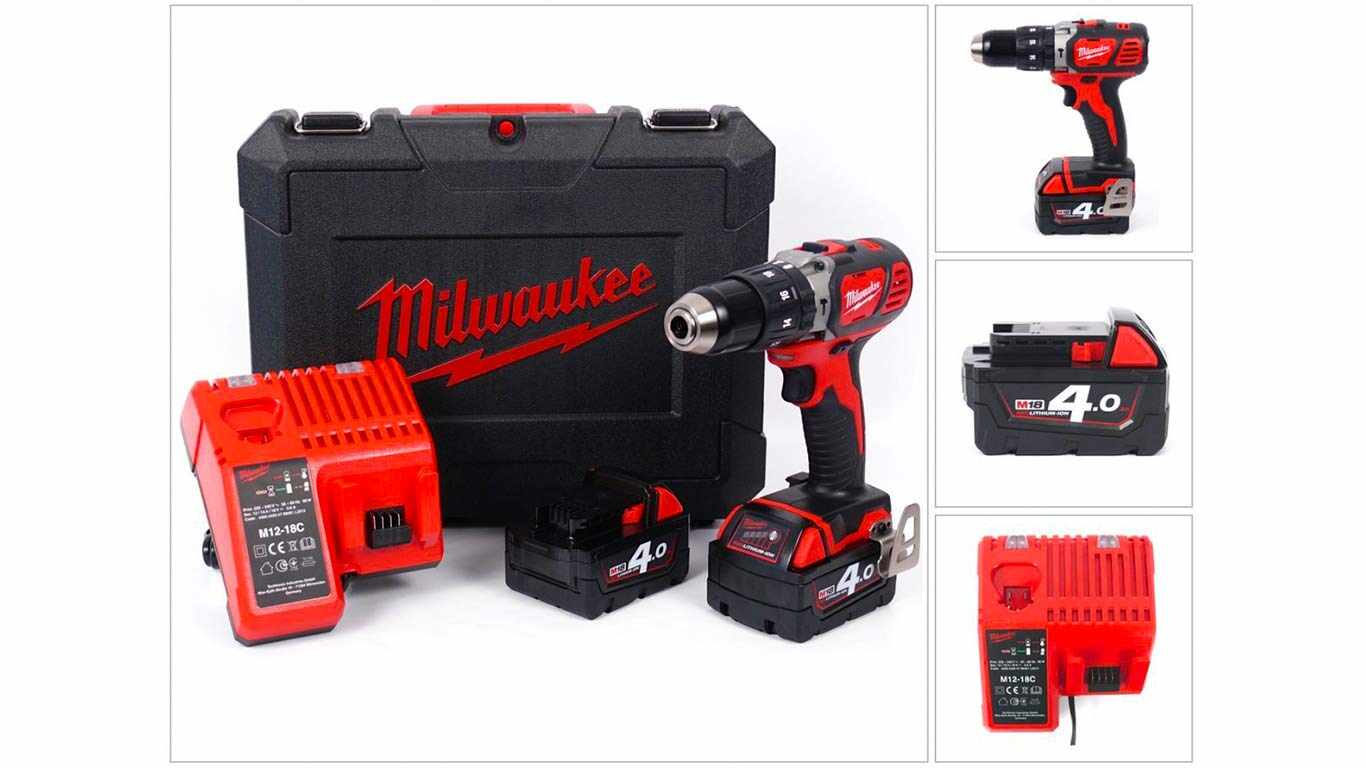 Milwaukee M18 BPD-402C perceuse visseuse à percussion