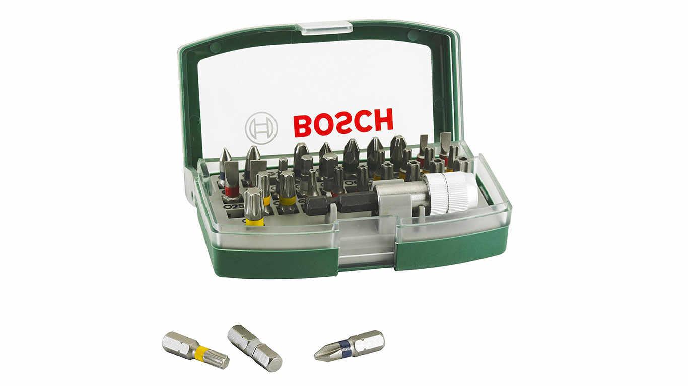 Bosch 26070170631 Coffret d'embouts 31 pièces pas cher