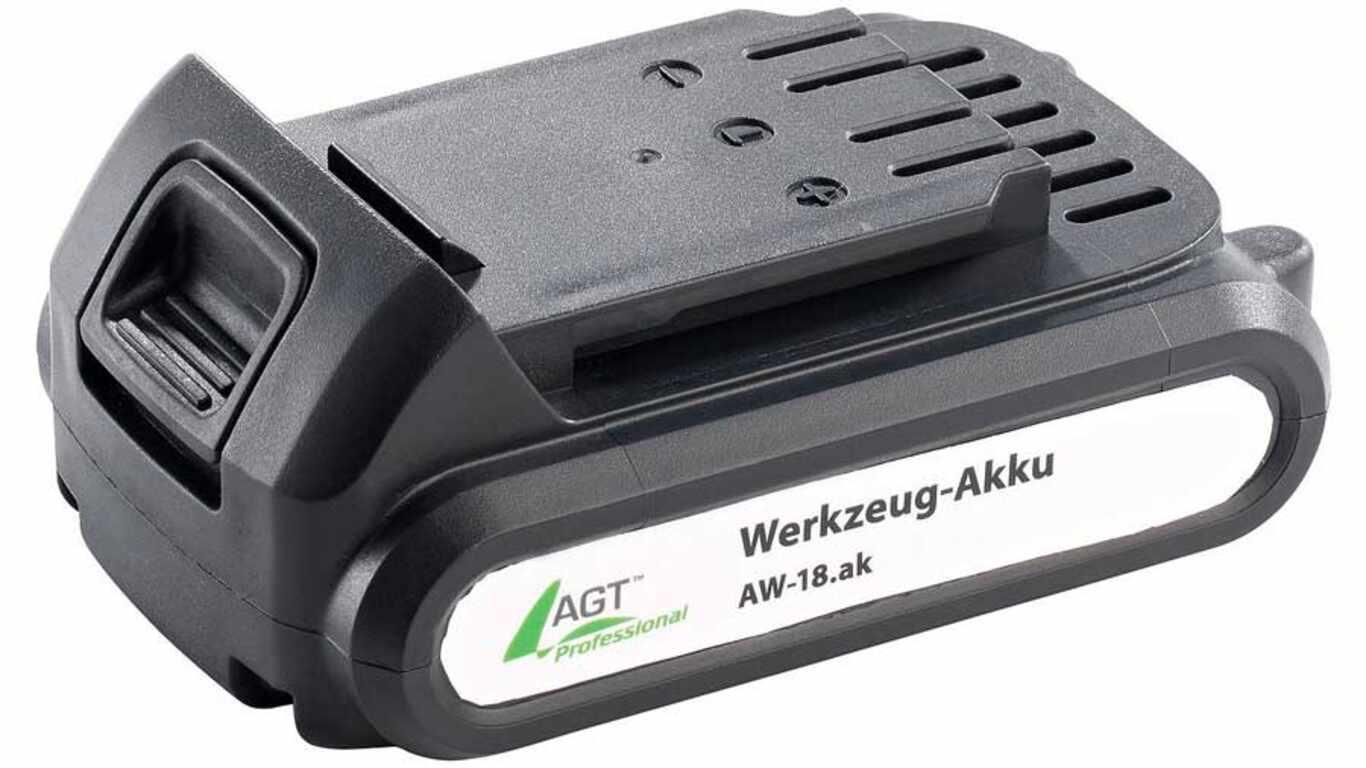 test et avis batterie AGT professional AW-18ak 1.3 Ah pas cher
