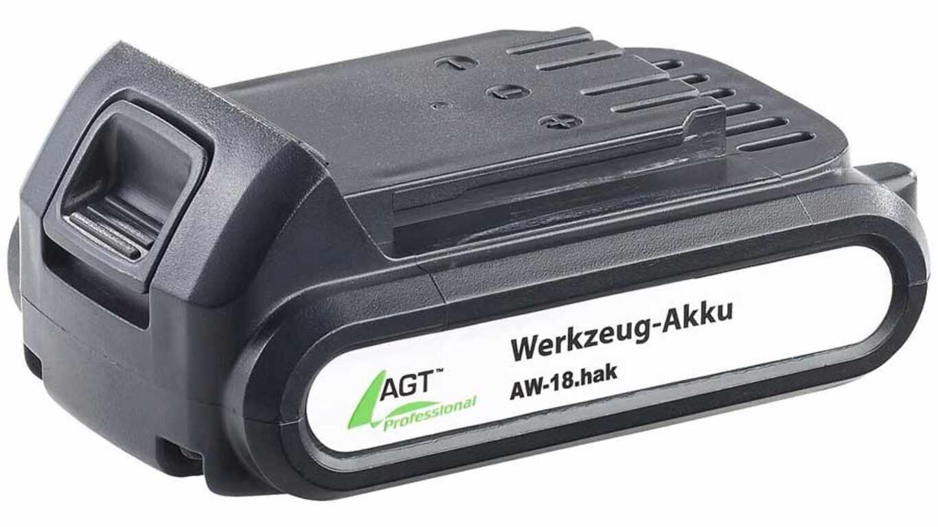 test et avis batterie AGT professional AW-18ak 2.0 Ah pas cher